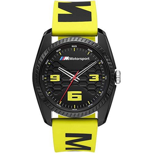 BMW Reloj HOMRE Motorsport Amarillo - Ref BMW1011