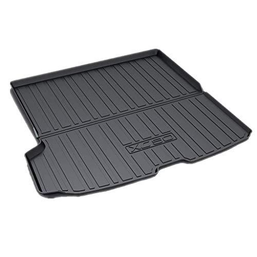 For XC90 2016 2017 2018 2015 2019 trasera del vehículo Hoja de bandeja de carga de línea troncal piso alfombra de la estera de la bandeja de equipaje impermeable (Size : Volvo XC90 2015-2019)