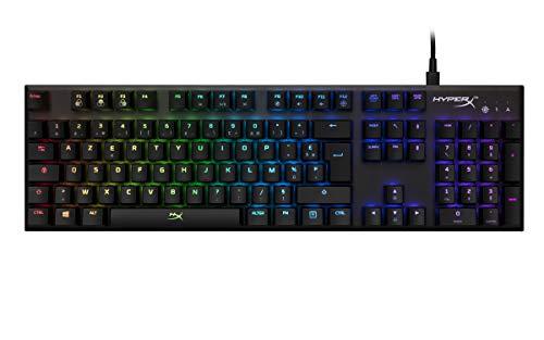 HyperX Alloy FPS RGB tastiera USB AZERTY Francese Nero