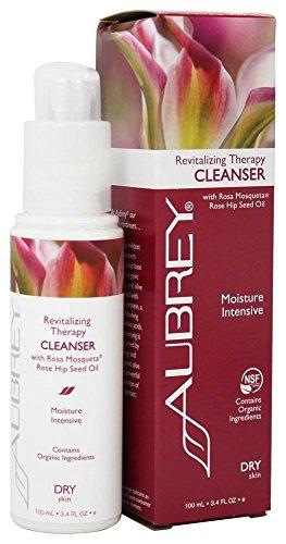 Aubrey Organics Revitalising Therapy Cleanser 100ml With Rosa Mosqueta