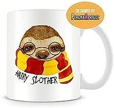 PeachyApricot Hairy Slother Sloth 11oz Ceramic Coffee Mug