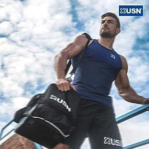 USN Trust Crunch Protein Bar, Low Sugar, 20 g of Protein Per Protein Bar, Fudge Brownie, 12 x 60 Protein Bars