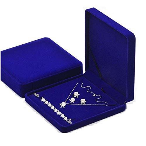 TIKIYOGI Jewelry Set Velvet Box ...