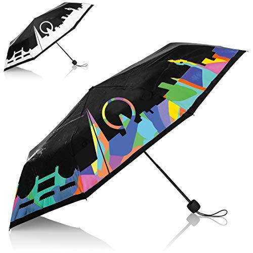 Farbwechsel-Regenschirm LONDON - (ULSL01..)