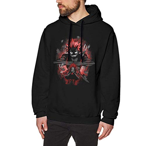 Boku No Hero Academia - Iida Tenya Hombre/Men's Long Sleeved Pullover Sweatshirts Hoodies XX-Large