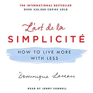 L'art de la Simplicité audiobook cover art