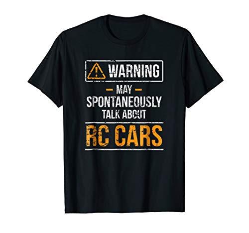 RC Car Shirt Warning May Spontaneously Talk About RC Cars