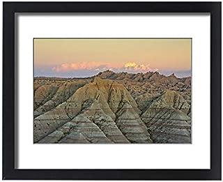 Media Storehouse Framed 20x16 Print of Panorama Point in Badlands National Park, South Dakota, USA (18244617)