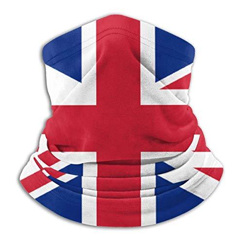 Bklzzjc Halsmanschette Britische Flagge Soft Camping Magic Schal Sonnenschutz Nahtlos Bedruckt Stilvolle Sturmhaube Gesichtsarbeit Bandana Halsmanschette Colorf
