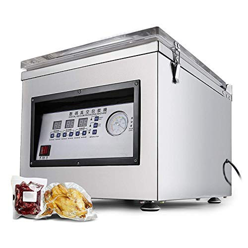 BananaB DZ-260C digital Vacuum Sealing Packing Machine 300W Vakuumierer vacuumiergerät 320MM/12.6INCH Profi Folienschweißgerät Edelstahl Vakuumiermaschine für Haus- und Handelsgebrauch