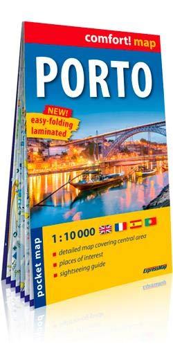Porto 1:10.000 bolsillo plastificado (Comfort ! Map)