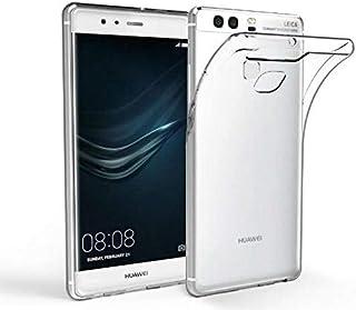 كفر حماية بلاستيك سلكون شفاف وطري لجوال هواوي P9 بلس بشريحتي اتصال - Huawei P9Plus