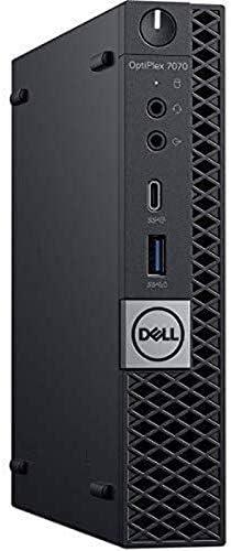 Dell OptiPlex 7070 Desktop Computer – Intel Core i7-9700T – 16GB RAM – 256GB SSD – Micro PC