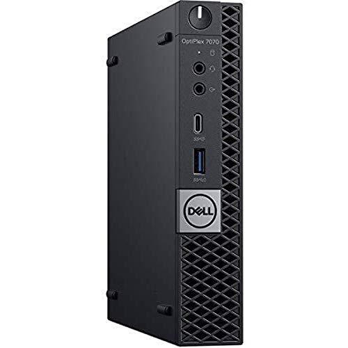 Dell OptiPlex 7070 Desktop Computer - Intel Core i7-9700T - 16GB RAM - 256GB SSD - Micro PC