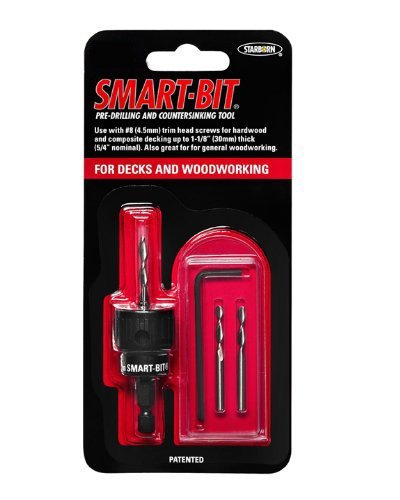 #10 Smart-Bit Pre-Drilling and Countersinking Tool for Decks and Woodworking (item # BDA146)