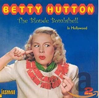 Blonde Bombshell-In Hollywood