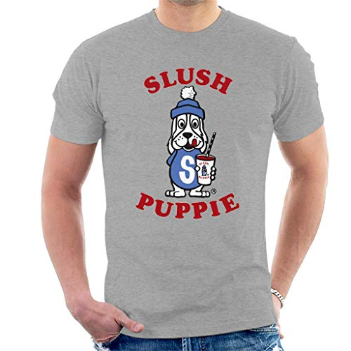 Slush Puppie Logo Men's T-Shirt Heather Grey