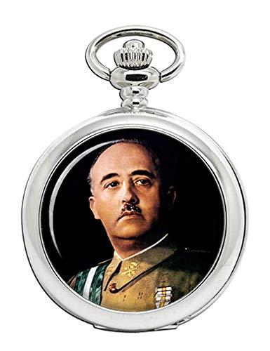 Generalissimo Franco Reloj Bolsillo Hunter Completo