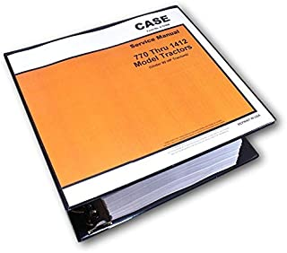 Case David Brown 1200 1210 1212 1410 1412 Diesel Tractors Service Manual Shop