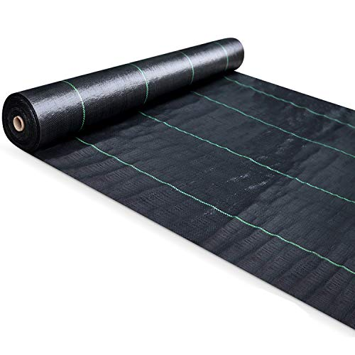 SEKKVY 4ft x 150ft Heavy Duty Landscape Fabric,...
