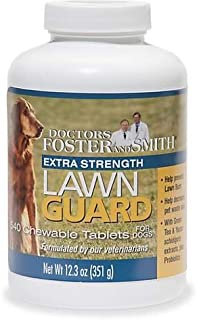 DRS. Foster and Smith Extra Strength Lawn Guard Chewable Tablets for Dogs