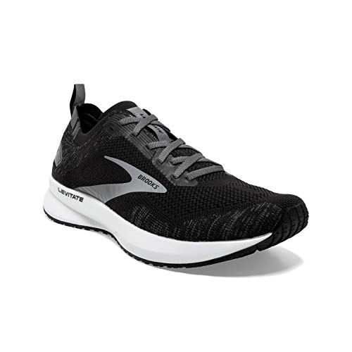 Brooks Damen Levitate 4 Laufschuh, Black Blackened Pearl White, 42 EU thumbnail
