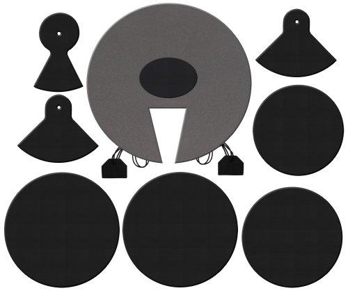 XDrum DMUTE-STA Schlagzeug-Dämpferset Pro Standard für Kesselgrößen: 12