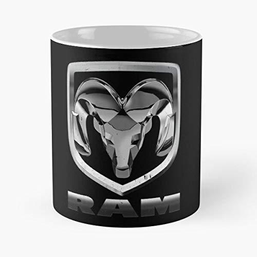 Dodge Ram Mug Best 11 oz Kaffeebecher - Taza de café de regalo de moda superventas negra, blanca, cambia de color 11 onzas, 15 onzas para todos