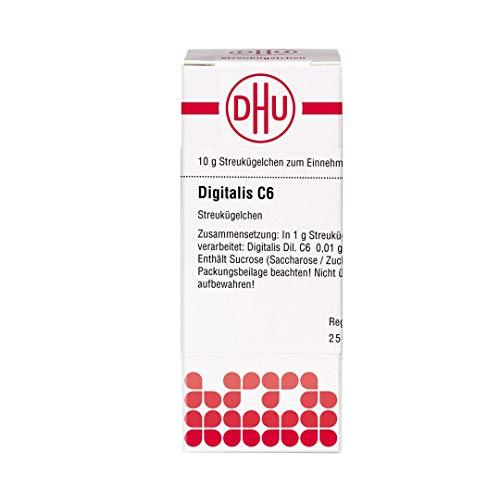 DHU Digitalis C 6 Streukügelchen, 10 g Globuli