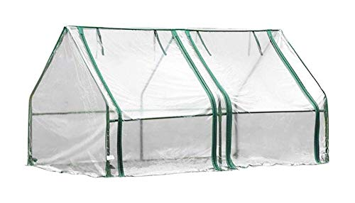 Mini Invernadero De Jardín Frío Y Cálido, A Prueba De Insectos.Carpa Impermeable para Jardín,Portátil PVC Cálido Jardín Tier (Size : 180x90x90cm)