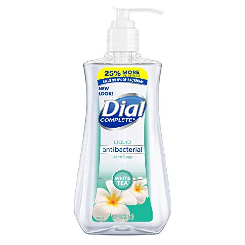 Dial Liquid Hand Soap, White Tea/Vitamin E, 9.375 Ounce