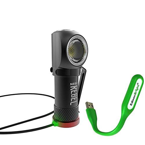 Nebo Rebel 240 lumen LED headlamp/work light 6691 USB rechargeable...