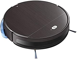 Alexa Smart Robot Vacuum Cleaner - Automatic Gyroscope Navigation, Mobile App - Auto Recharge Dock, Dust Bin, Brush, Air Filter, Remote - Hardwood Tile Carpet Floor - Pure Clean PUCRC850