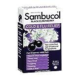 Sambucol Black Elderberry Cold & Flu Relief Tablets 30 ct - Pack of 3