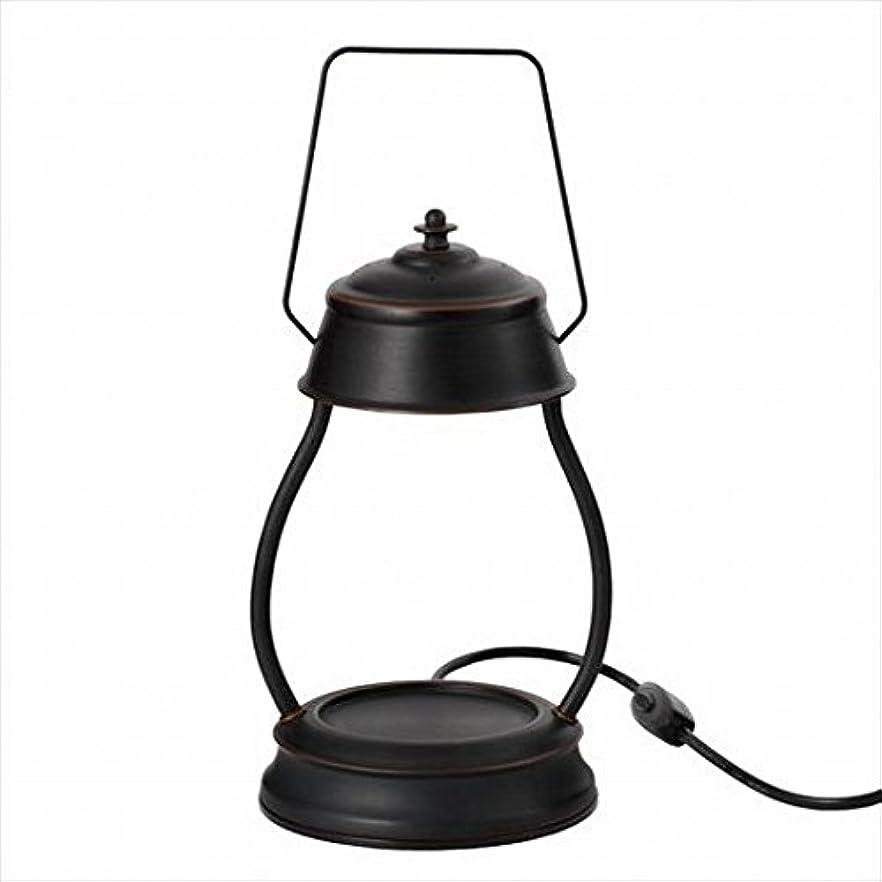 マットレス脈拍実験をするkameyama candle(カメヤマキャンドル) ハリケーンキャンドルウォーマーランプ 「 ブラウン 」 キャンドル 164x155x345mm (J3570000BR)