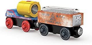 Learning Curve / Fisher Price Blizzard Search & Rescue Cargo Cars - Thomas & Friends Wooden Railway Tank Train Engine - SKU # DGK78