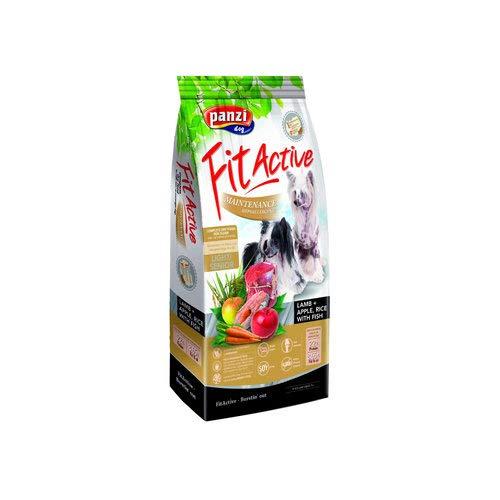 Panzi FitActive Premium hondenvoer, hypoallergeen lam voor oudere honden, Lamm, 4 kg