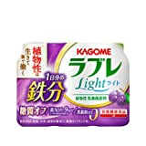 カゴメ 植物性乳酸菌ラブレLight 1日分の鉄分 80ml×3P 12パック