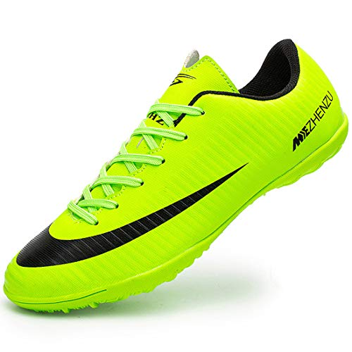 Easondea Botas de fútbol para Hombre Aire Libre Profesionales Zapatillas de fútbol para Exterior Atletismo Training Zapatos de Deporte