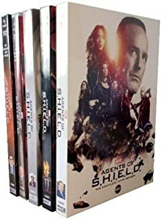 Marvel Agents of SHIELD S.H.I.E.L.D. Seasons 1-5 DVD NEW 1 2 3 4 5