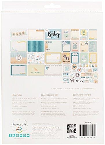 Project Life 380805 Value Kits-Little You-Boy-Blue Foil (130 Piece)