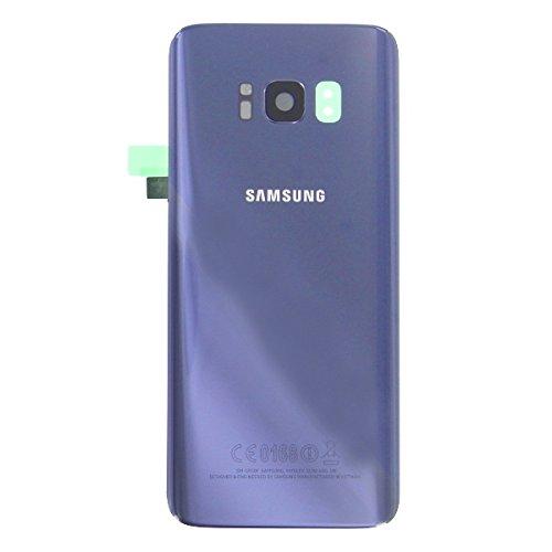 OEM SYSTEMS Scocca Copribatteria Back Cover Vetro Posteriore Originale Samsung Galaxy S8 PLUS G955 G955F S8+ SM ORCHID GREY VIOLA VIOLET Adesivo Biadesivo GH82-13962C