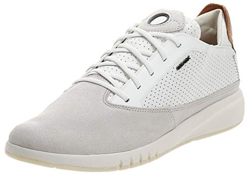 GEOX Man U AERANTIS A SHOES PAPYRUS/WHITE_43 EU
