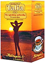 HERBAPOL – TALIA TEA aE FOR A PERFECT FIGURE aE FIX – 20 sachets – Slimming drink Contains herbs beneficial in eliminating excess weight and keeping a slim figure – Herbapol Estimated Price : £ 9,99