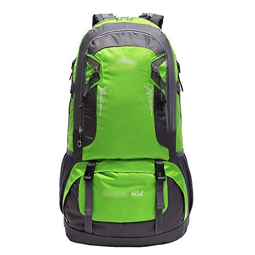 ZEVONDA Zaino da Hiking 60 Litri - Zaino Casual Multifunzionale Leggero Campeggio Ciclismo Viaggi Arrampicata Alpinista Sport Daybag Borsa, Verde
