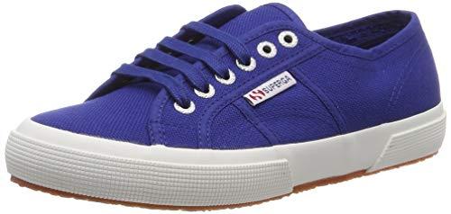 Superga 2750-COTU Classic, Sneaker Unisex Adulto, Blu (Blue E12), 43 EU