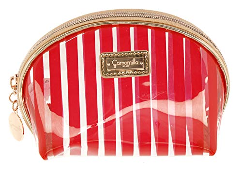 Camomilla Milano Pochette ronde S à rayures rouges