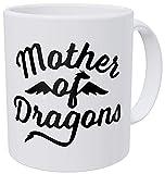 N\A Madre de Dragones - Taza de café de Regalo - Divertida inspiradora y motivadora