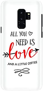 Stylizedd Samsung Galaxy S9 Plus Slim Snap Case Cover Matte Finish - All You Need Is A Little Love