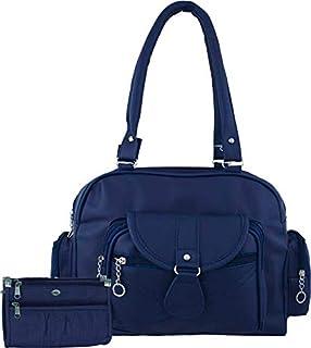 Bellina® Women's Handbag in Premium Navy Blue Color Shoulder Bag and Wallet for Women